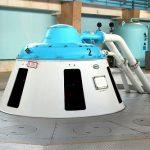 На Саратовской ГЭС модернизируют гидроагрегат №2