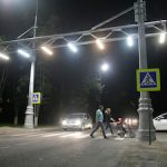 В городе-спутнике Курской АЭС появился уникальный пешеходный переход «Воздушная зебра»
