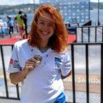 Воспитанница плавательного бассейна ОП Запорожской АЭС завоевала серебро в заплыве через Босфор
