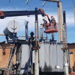 Кузбасские энергетики испытали новое «сердце» ПС «Заречная» в шахтерском Полысаево