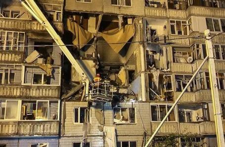 взрыв газа в жилом многоквартирном доме