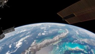 космос земля