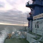 """Атомоход """"Арктика"""" штурмует Норвежское море"""