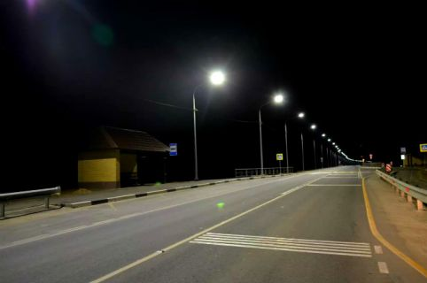 освещение дороги