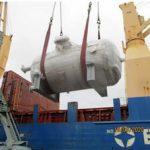 Из порта Санкт-Петербурга вышло судно с оборудованием для индийской АЭС «Куданкулам»