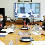 Состоялась встреча Александра Новака с заместителем Премьер-министра Республики Куба Рикардо Кабрисасом