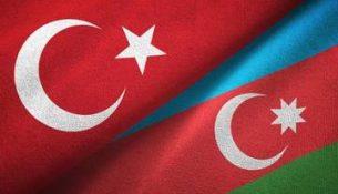 флаг Азербайджан Турция