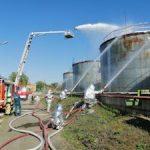 На Северо-Западной котельной «Квадры» в Липецке потушили условный пожар