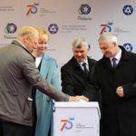 Петрозаводскмаш открыл памятный знак в честь трех юбилейных дат