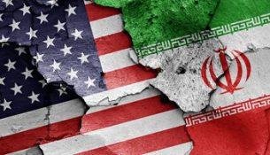 флаг США Иран