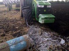 ДТП трактор опора