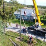 В Тверской области ликвидировали учебную аварию в Вышневолоцком энергорайоне