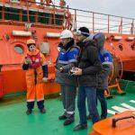 «Газпром недра» и «Морспасслужба» испытали в Арктике отечественный БПЛА