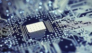 печатная плата микросхема чип