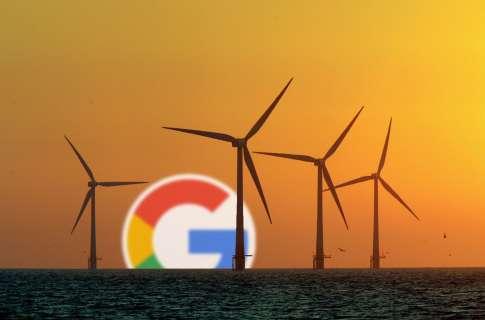 Ветряк ВИЭ Google