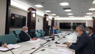 Вице-президент Энергоатома Герман Галущенко встретился с заместителем министра энергетики США Тедом Геришем