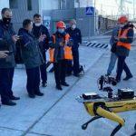 Робопёс ищет зараженные радиацией зоны в Чернобыле (видео)