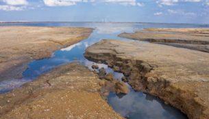 высохшие водоемы в Крыму