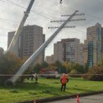«Россети Ленэнерго» освободили территории Приморского района Санкт-Петербурга от воздушных линий электропередачи