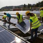 В Казахстане ввели в эксплуатацию солнечные электростанции «Капшагай» и «Сарыбулак»