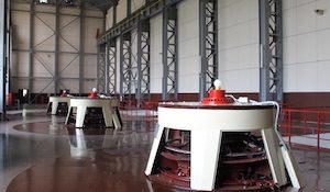 машинный зал Кашхатау ГЭС