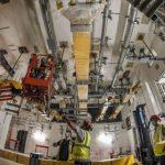 На стройплощадке термоядерного реактора во Франции монтируют шинопроводы российского производства
