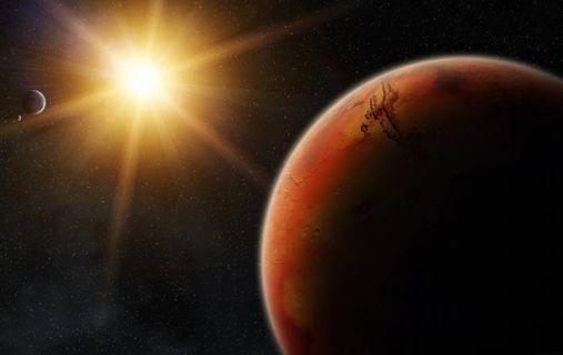 марс солнце космос