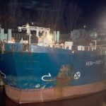 Последнее судно навигационного сезона доставило груз для строящегося завода «Нижнекамскнефтехима»