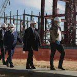 На стройплощадке Курской АЭС-2 бетонируют перекрытия установки ГЦН