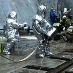 Пурга 5 в помощь: на Саяно-Шушенской ГЭС учения по ликвидации ЧС шли в условиях, приближенных к реальным