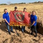 Волгоградские энергетики «Россети Юг» обнаружили именной медальон во время поисково-разведывательной экспедиции