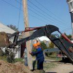 Керченский РЭС реконструирует электросетевую инфраструктуру в посёлке Героевское