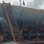 По факту разлива топлива в Ангару возбуждено уголовное дело