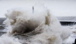 шторм цунами ураган