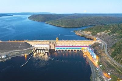 Богучанская ГЭС