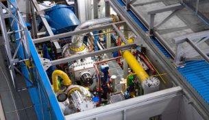модульная компрессорная установка, изготовленная для ООО «Газпром добыча Ямбург» на Ямбургском месторождении (ЯНГКМ)