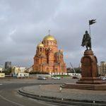 «Волгоградгоргаз» реконструировал подземный газопровод рядом с храмом Александра Невского