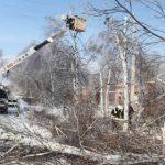 ДРСК восстановила электроснабжение в ряде населённых пунктов Приморья