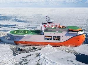 Ледостойкая платформа «Северный полюс»