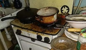 плита дом быт