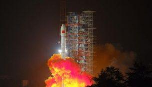 старт ракеты Чанчжэн-3В