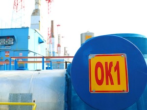 дожимная компрессорная станция на Губкинском газовом промысле