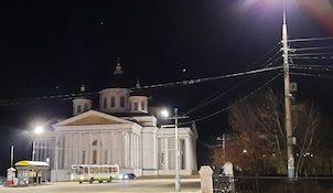 Соборная площадь города Арзамаса Нижегородской области