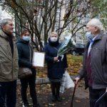 Сотрудники Смоленскэнерго поздравили с 90-летним юбилеем ветерана энергосистемы