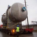 На стройплощадку «Нижнекамскнефтехима» доставлено оборудование для факельной установки