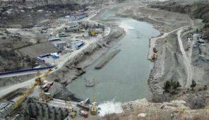 Ирганайская ГЭС строительство
