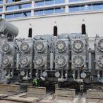 На Воткинской ГЭС установлен новый трансформатор