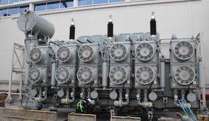 трансформатор на Воткинской ГЭС