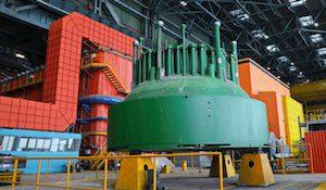 крышка атомного реактора