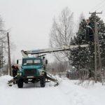 Глава Барановского сельского поселения поблагодарила Костромаэнерго за модернизацию наружного освещения в Буйском районе